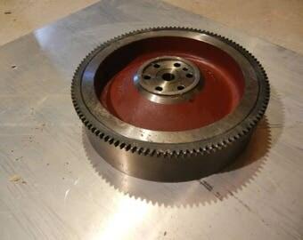 Large industrial steampunk gear wheel engine part