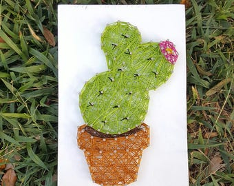 Cactus String Art Made to Order Home Decor
