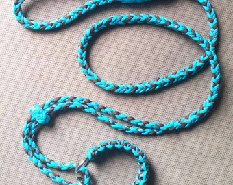 paracord martingale dog collar instructions