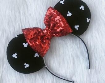 Polka Dot Mickey Ears