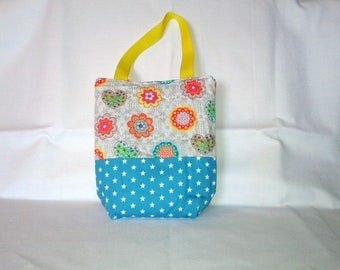 Kids / girls bag with flowers