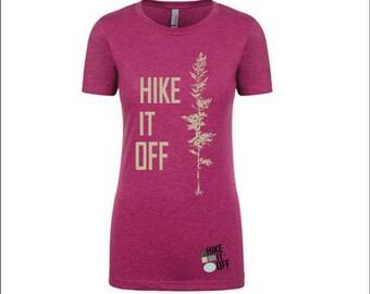 Hike It Off Women's Tee in Lush