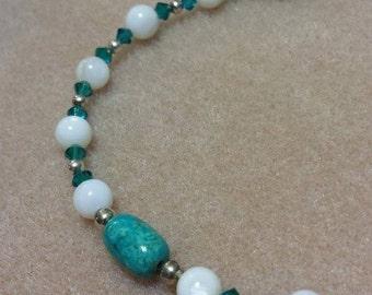 Girls Birthstone Crystal Necklace - DECEMBER