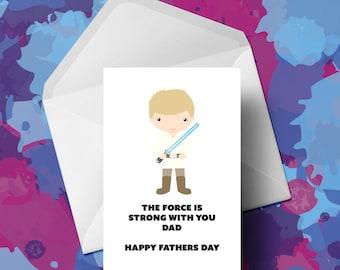 Star Wars - Luke Skywalker - Fathers Day