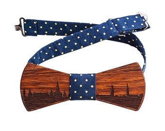 Wooden BowTie. Wooden Bow Tie. Wood Bowtie.  Resin Tie. Wooden Wedding BowTie