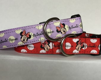 Minnie Mouse 1 inch Collar