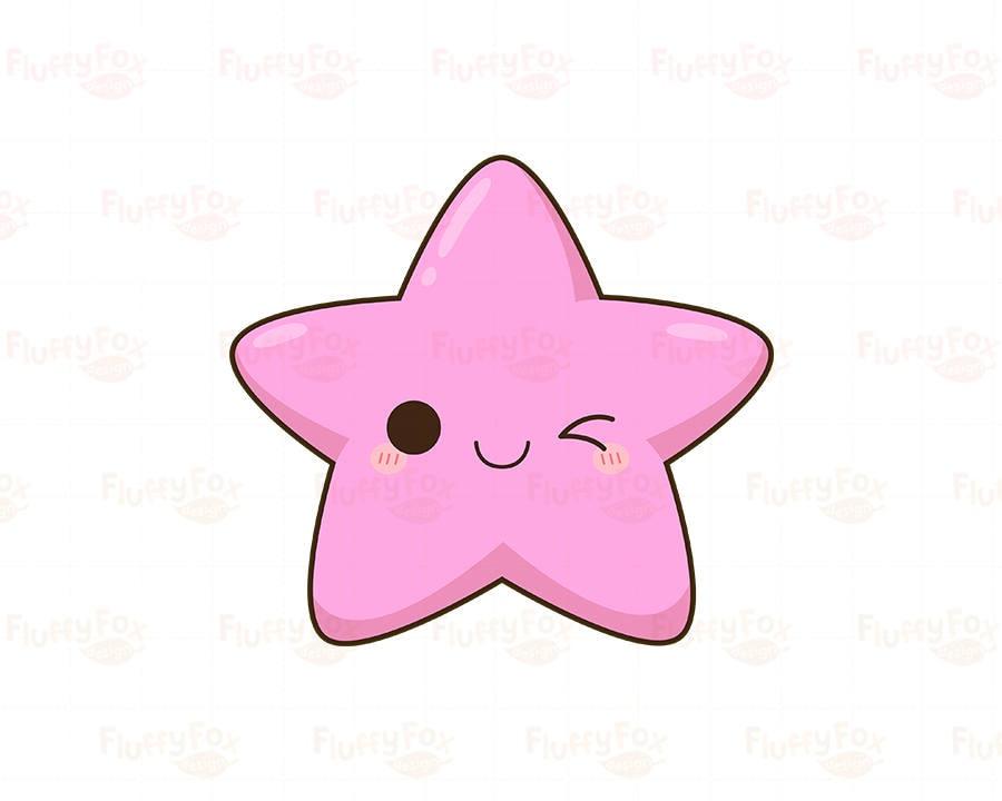 kawaii star clipart  cute stars clip art galaxy happy funny face clip art black and white funny face clip art for flip book