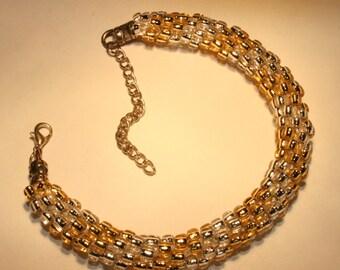 Kumihimo Bracelet Beaded