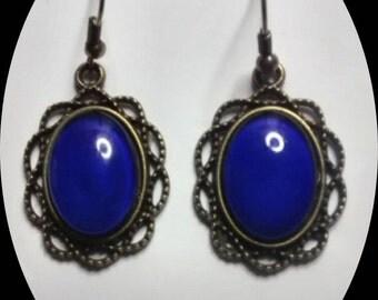 Mood Stone Earrings, Color Changing Earrings, Mood Earrings. FREE SHIPPING