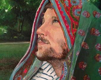 Custom Portrait - Acrylic paint