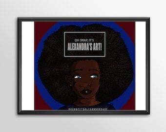 Abigail print