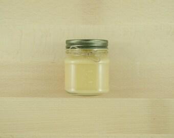 Caramel Sugarcane - 8 oz Mason Jar - Hand Poured Soy Candle