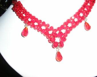 Czech Crystal Necklace