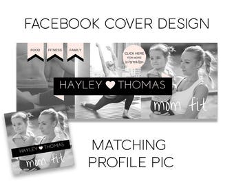 Facebook Page Cover Design, Facebook Cover, Profile Picture