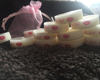 Personalised Candle Tealight hen party Favours occasions baby wedding funeral