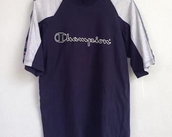 Vintage champion raglan tshirt L