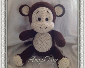 Baby Monkey (AMIGURUMI)