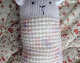 Little lamb baby toy
