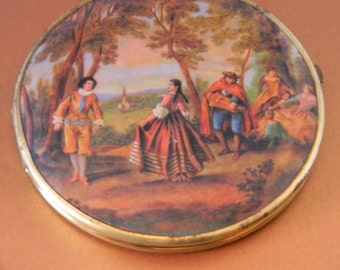 Large Western Germany Compact Mirror