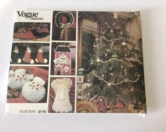 Vintage Vogue Craft Christmas 2776
