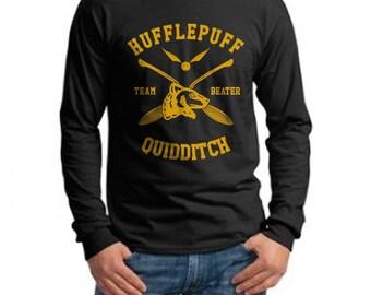 BEATER - Huffle Quidditch team Beater on Longsleeve MEN tee