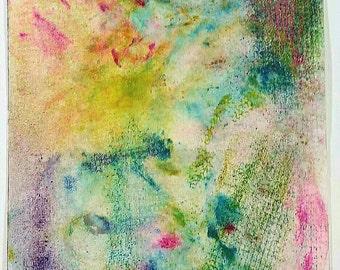 Summer Garden Pastel