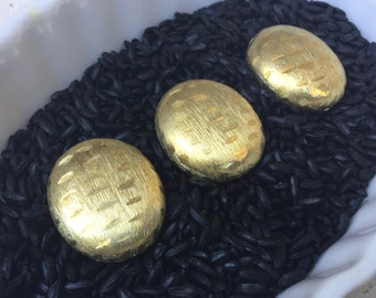 Gold Vermeil over Sterling Silver Oval Beads