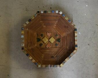 Tramp Art Basket