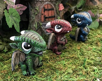 Miniature Baby Dragon - Pick your color!