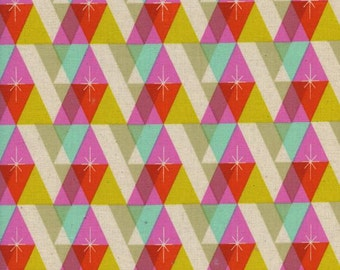 Facet in Pink by Melody Miller - 1/2 Yard - Garland from Cotton and Steel