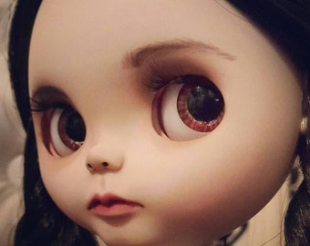 Custom Blythe Dolls For Sale by OFFER for today WEDNESDAY ADDAMS custom Blythe by Loliña
