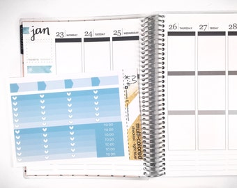 Light Blue Ombre Heart Checklist! Perfect for the Erin Condren Life Planner!