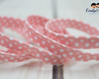 piping band rose with white dots