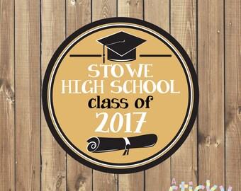 Personalized Graduation Stickers, Graduation Stickers, Graduation Labels, School Stickers, Teacher Stickers, Teacher Gift, Custom Stickers