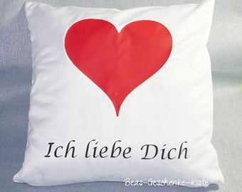 Pillow covers I love you