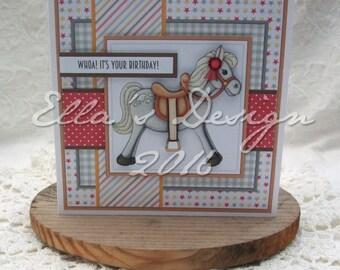 Horse predesigned card kit
