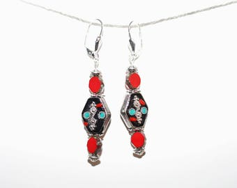 "Ethnic/Bohemian earrings - model ""Sarah 3"""