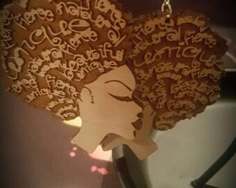 Fierce & Unique #1 Custom Earrings