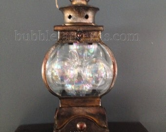 Brushed Oil Old World Style Bubble Lantern