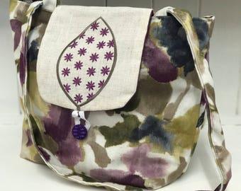 Handmade patterned handbag