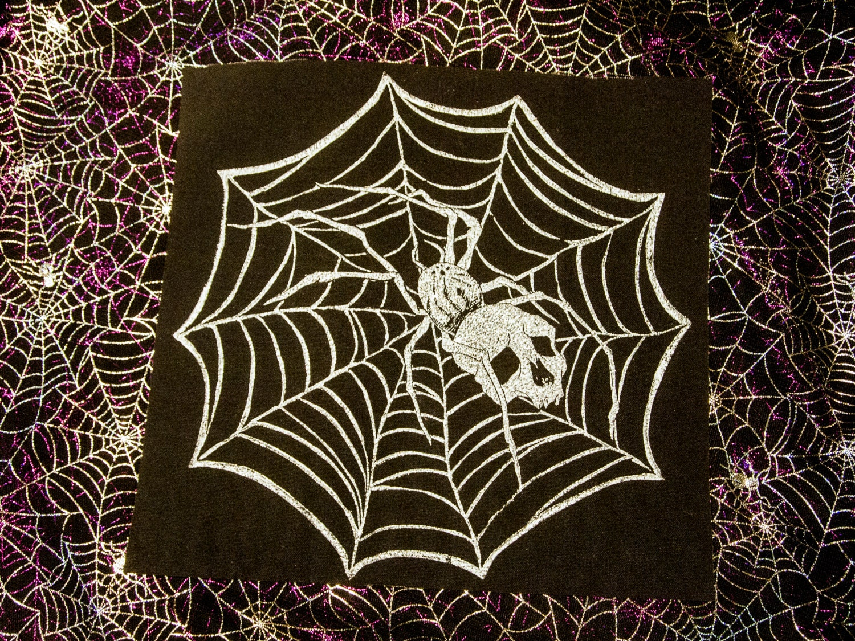 Webspinner Back Patch