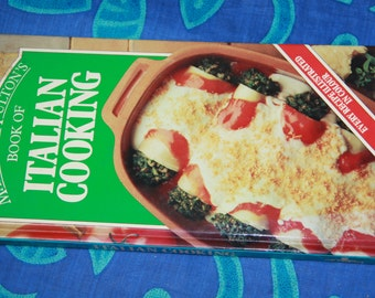 margart Fulton  1983 vintage recipe book vintage cook book hard cover Italian Cooking COOKING vintage cookbook