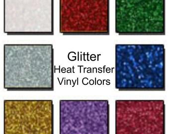 Glitter Heat Transfer Vinyl Add-On