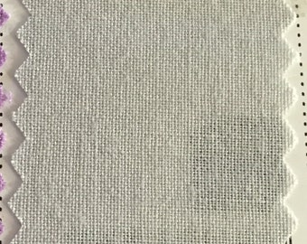 Silver  Quilter's Homespun 100% Cotton Fabric 1/2m lengths