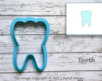 First tooth cookie cutter / Baby cookie cutter / Tooth fondant cutter