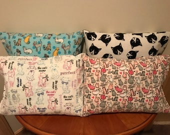 Cat Travel Pillowcase