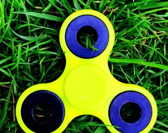 Hand Finger Spinner Steel Fidget Tri-Spinner For Kids / Adult ADHD ADD autism special needs therapy Stress relief US seller Free Shipping