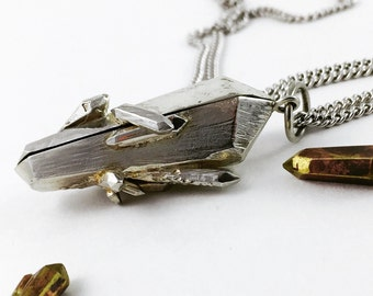 Crystal Locket Sterling Silver