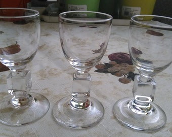 Vintage Liquor Glasses