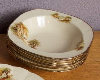 Meakin Dessert Bowls || Alfred Meakin Bowls